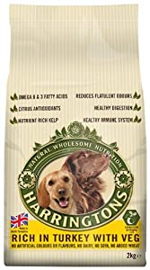 Harringtons Complete Turkey and Vegetables Dry Mix 2 kg (Pack of 6) from Wagg Foods Ltd