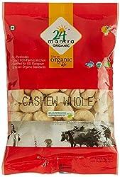 24 Mantra Organic Cashew Whole, 100g
