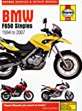 BMW F650 Funduro F650ST Strada F650GS Dakar F650CS 1994-2007 Haynes Manual M4761