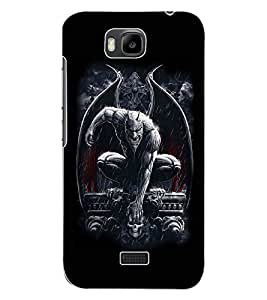 ColourCraft The Vampire Design Back Case Cover for HUAWEI HONOR BEE