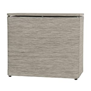 Lamont Home Cambria Bench Hamper Brown Laundry Hampers