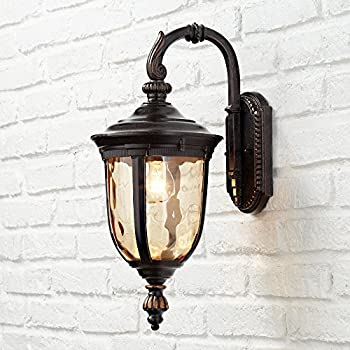"Bellagio 16 1/2"" High Downbridge Outdoor Wall Light"