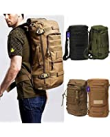 CAMTOA Military Tactical 50L Backpack Daypack Shoulder Bag Waterproof Travel Backpack Daypack for Hiking Camping Travel