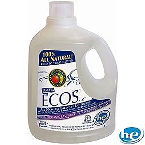 Ecos Liquid Laundry Detergent Lavender - 2 Ct. - 210 Oz. Ea.