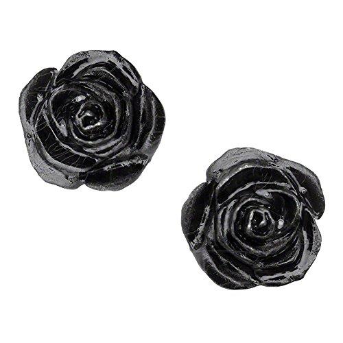 Orecchini Rose Stud Alchemy Gothic (Nero)