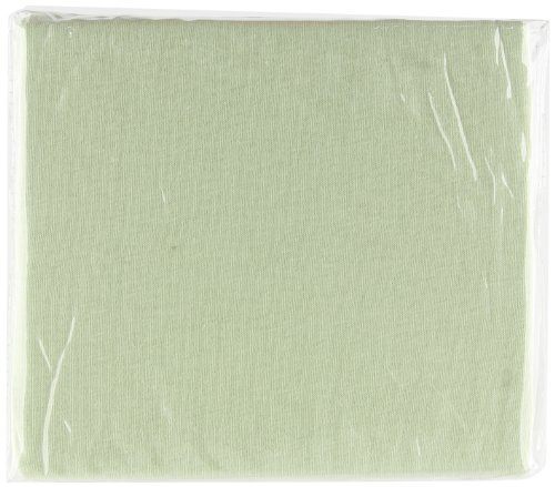 Carters Easy Fit Jersey Portable Crib Fitted Sheet, Sage (Discontinued by Manufacturer)