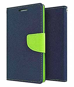 Case Design Mercury Flip Cover For Samsung Galaxy Note 5 Edge -Blue