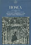 img - for Hosea: A new translation (Anchor Bible, Vol. 24) book / textbook / text book
