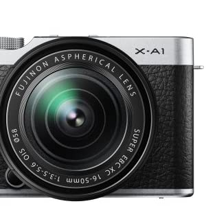 FUJIFILM デジタルカメラミラーレス一眼 X-A1ズームレンズキット シルバー F X-A1S/1650KIT