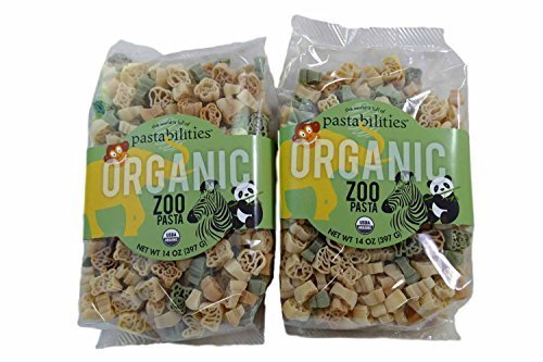 Pastabilities Kids Organic Zoo Pasta - Set of 2 (Organic Pasta For Kids compare prices)