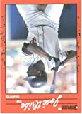 1990 Donruss # 335 Jose Uribe San Francisco Giants Baseball Card