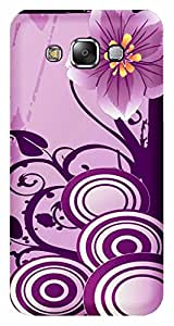 TrilMil Printed Designer Mobile Case Back Cover For SAMSUNG GALAXY E5