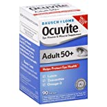 Ocuvite Eye Vitamin & Mineral Supplement, Adults 50+, Soft Gels 90 soft gels