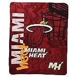 "NBA Lightweight Fleece Blanket (50"" x 60"") - Miami Heat"