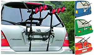 Fastcar Universal Rear Mounted 3 Cycle Carrier Car Rack