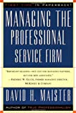 img - for Managing The Professional Service Firm by David H. Maister (1997-06-09) book / textbook / text book