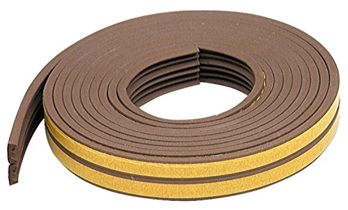 M-D Building Products 02592 17-Feet All Climate EPDM Rubber Weather-strip for K Profile (Round Rubber Weatherstrip compare prices)