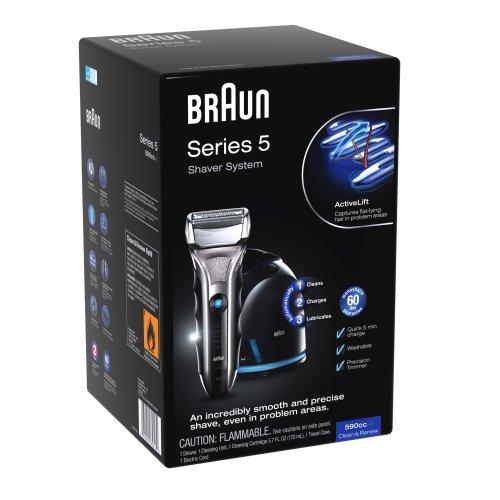 Imagen de Braun Series 5 590cc-Hombres Sistema de Afeitado 1 Count
