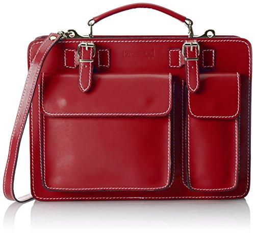 Chicca Borse 7006 Borsa Organizer Portatutto, 35 cm, Rosso
