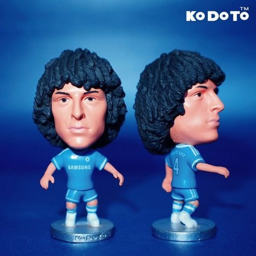 "Chelsea Fc David Luiz #4 Toy Figure 2.5"" - 1"