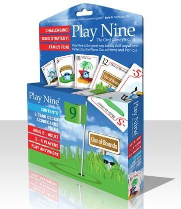 Play Nine Golf Card Game Travel Edition