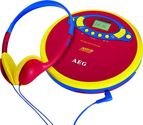 AEG CDP 4228 Discman Tragbarer CD/MP3-Player