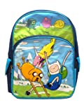 Full Size Blue Jump and Land Adventure Time Backpack - Adventure Time Bookbag