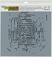 Crafters Workshop Labyrinth Crafter39s Workshop Template 12-Inch by 12-Inch