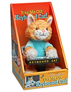 Thinkgeek Keyboard Cat Animatronic Plush by ThinkGeek