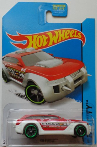 2014 Hot Wheels HW CITY HW Pursuit 45/250 (Red/White Version) - 1