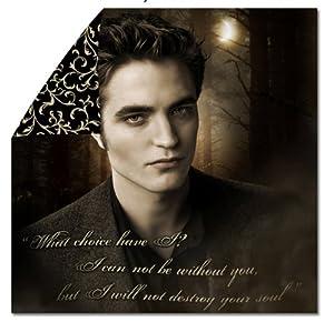 "Twilight New Moon  Edward: ""Destroy Your Soul"" Duvet cover Edward"