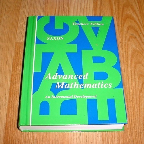 Advanced mathematics: An incremental development