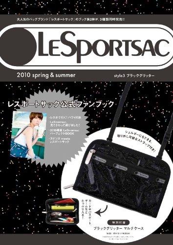ブラックグリッターLESPORTSAC3springsu