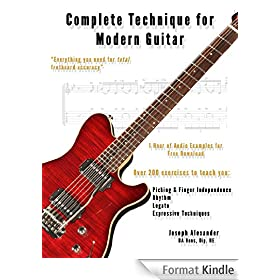 Complete Technique for Modern Guitar: Over 200 Fast-Working Exercises with Audio Examples