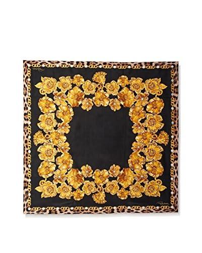 Roberto Cavalli Women's Patterned Silk Scarf, Multi