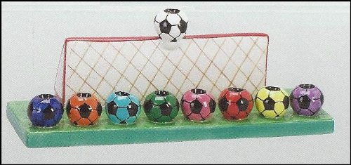 Soccer Menorah
