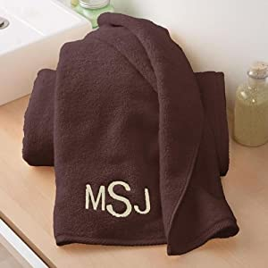 Ringspun Microcotton Monogrammed Bath Towel