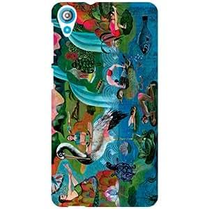 HTC Desire 820Q Back Cover - Art Designer Cases