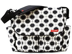 Skip Hop Dash Deluxe Diaper Bag, Blossom