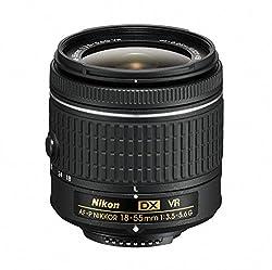 Nikon 18 - 55 mm f/3.5 - 5.6G VR AF-P DX Nikkor Lens for Camera