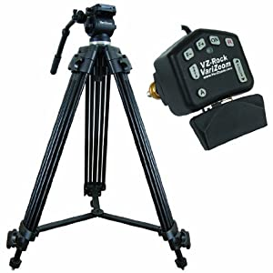 Varizoom VZTK75A-ROCK Tripod and Lens Controller (Black)