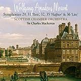 Mozart Symphonies 29, 31 (Paris), 32, 35 (Haffner) & 36 (Linz)