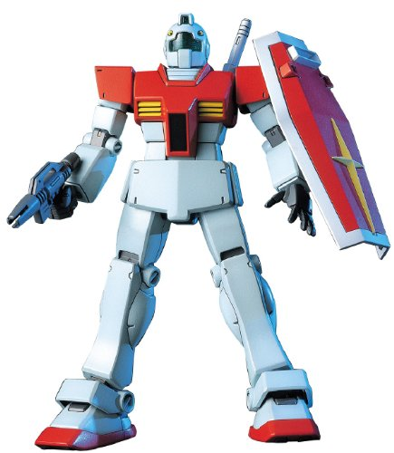 """Bandai Hobby HGUC 1/144 #20 RGM-79 GM """"Mobile Suit Gundam"""" Model Kit"""