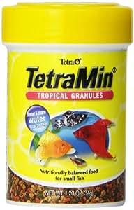Tetra 16122 TetraMin Tropical Granules, 1.20-Ounce, 85 ml