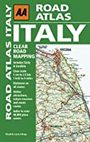 Road Atlas Italy (Aa Road Atlas)