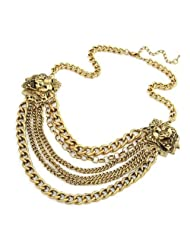 Crunchy Fashion King Of Hearts Necklace