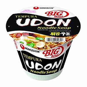 Nongshim Udon Noodle Bowl, 4.02-Ounce Big Bowls (Pack of 12)