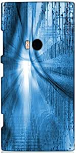 Snoogg Internet Background Designer Protective Back Case Cover For Nokia Lumi...