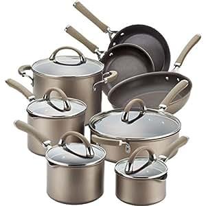 Circulon Circulon Premier Professional 13-piece Hard-anodized Cookware