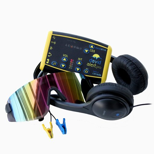 Mind Alive David Alert Pro Light Therapy Sound Machine (Yellow)